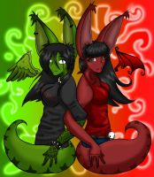 We may differ but, we are Twin by lil-creeper