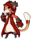 Little red riding bean  by lalacat2000