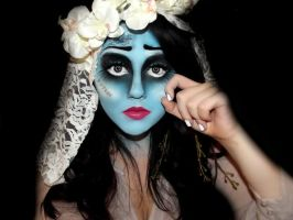 Corpse Bride Halloween Make-up by KikiMJ