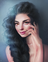 Portrait Commission by Sandramalie