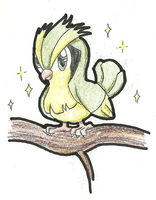 Shiny Pidgey by TheNymphia