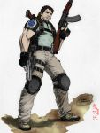 Chris RE5 - werder- colored by Qsec