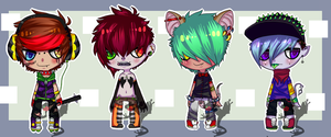 Little Adopts by Froggy-n-Rose-Adopts