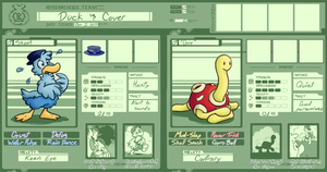 PMDU: Duck and Cover Art Application by CalicoWithAPencil