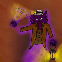 Coal Miner Haunter by PsychoticFlare