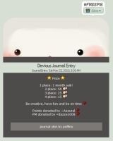 FreePM Journal Skin by poffins