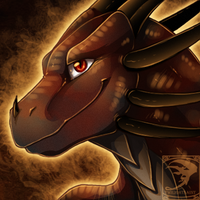 Icon Comish - Ember Eyes by TwilightSaint