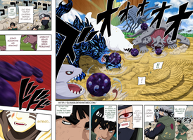 Pag 2-3 manga naruto manga 571 full color by Luisseb
