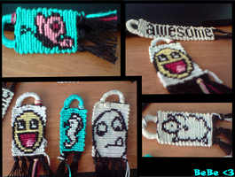 friendship bracelet..,. by bebe1221