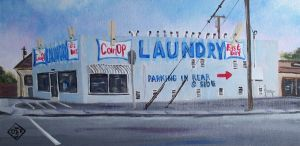 Laundry by TomOliverArt