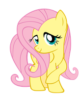 Fluttershy being Fluttershy by H2oOctane