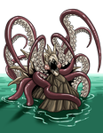 Cave Fisher Squid by ProdigyDuck