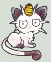 Dirty meowth by elvereth