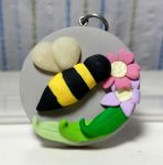 Bee pendant by Cupcake-SmileyFace