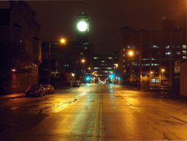 Milwaukee at night by photozz