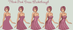 Think Pink Dress Walkthrough by Evelyn-arts