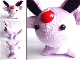 Espeon Plushie - 3 by CraftKiwi