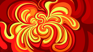 Fire in Paint by Octomantis