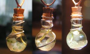 Magic Vial - Fairy Greens by Izile