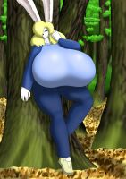 Mary in the forest by SteveSzarka13