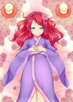 Sleeping Beauty: eyes open (original - MilanaMill) by Lady-Suchiko