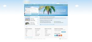Rentmyvillas website design by stella-voluntas