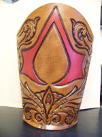 assassins creed inspired vambrace by MerrillsLeather