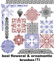 Kool Ornaments Flower p1 by koolprincein