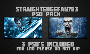 PSD Pack by StraightEdgeFan783