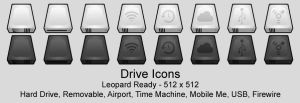 Drive Icons by Zeptozephyr