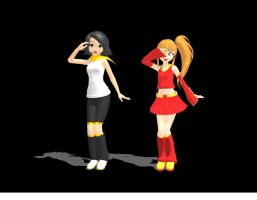 MMD Newcomers: Self and Character by stargazer-eyes