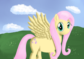 Fluttershy by TheYodelingHippo