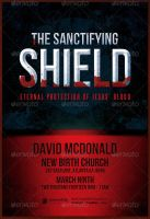 The Sanctifying Shield Church Flyer Template by loswl