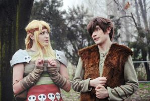 HTTYD ~ Hiccup and Astrid II by YamatoTaichou