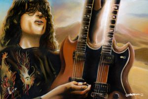 Jimmy Page by Bate-man26