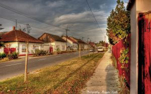 On my street.   HDR-picture. by magyarilaszlo
