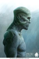 Thor - Frost Giant Concept Art by michaelkutsche
