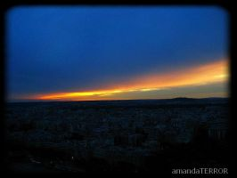 City on Fire by amandaWAY