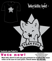 Woot Shirt - Team Fox by fablefire