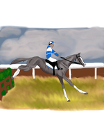 Tupan's Maiden Steeplechase by silvershore