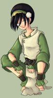 Toph Colored by Valen-chan