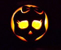 Monster High Pumpkin by mikedaws
