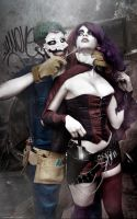 Harley Quinn and Joker - Suicide Squad - New 52 by WhiteLemon