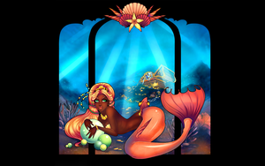 The Covetous Pisces by Centi