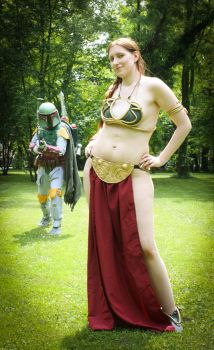 Star Wars - Slave Leia by TooN-Twins