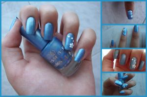 New nail art: it's summer time by Okki-Di-Stella