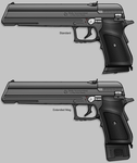 DI Gauss Pistols by sharp-n-pointy