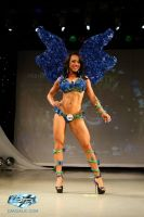 Blue Azure Butterflies them wear from Lux by LuxCostumeDesign