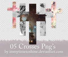05 Crosses PNG's Pack 4 by itsmytimetoshine
