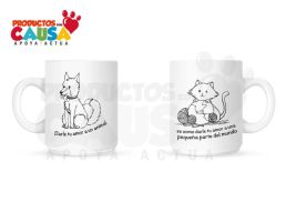 Animal Care Tazas by Shimi34
